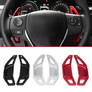 Steering Wheel Shift Paddle Blade Shifter Extension For Toyota Rav4