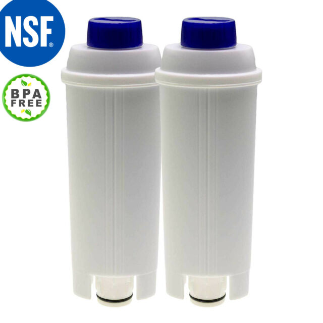 2x Wasserfilter für DeLonghi ECAM 25.457.B 25.457.S ECAM-260 26.455 26.455.BLB