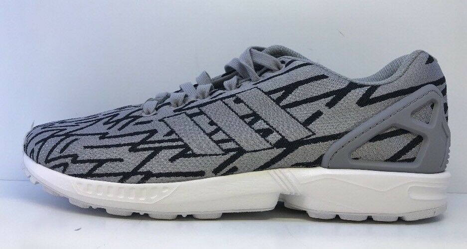 Adidas  hommes  Zx Flux Weave  Gris  Trainers Uk 9.5