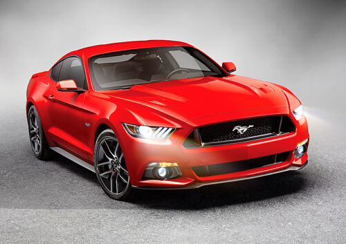 Ford Mustang Poster BEAST Muscle Car Quality Large FREE P+P CHOOSE YOUR SIZE!