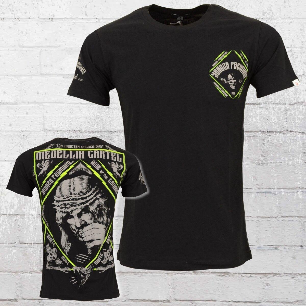 Yakuza Premium Herren T-Shirt Jesus Snuff schwarz Männer Tshirt 2513 | Zürich  | Won hoch geschätzt und weithin vertraut im in- und Ausland vertraut  | Elegante und robuste Verpackung