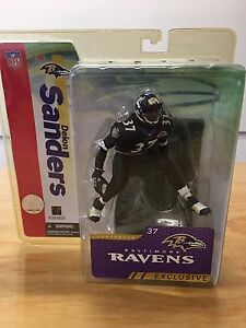 Image is loading Deion-Sanders-Collectors-Club-Exclusive-Baltimore-Ravens -BLACK- 5569a66f8