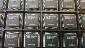 10x-ICS-ICS1889Y-LAN-Transceiver-100Base-FX-Integrated-PHYceiver-QFP-64
