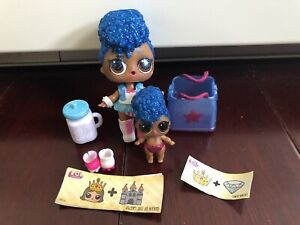 rare LOL Surprise dolls Confetti Independent Queen big /& Lil Sister Series 3 toy