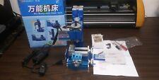 Mini Milling Machine Manual Control Woodworking Soft Metal Processing Tool Hobby