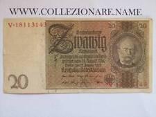 BANKNOTE BANCONOTA 20 REICHSMARK (G1-17) (E)