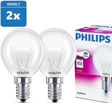 Philips Tropfenlampe ball 40W E14 OVEN P45x78 Backofenlampe 300/°C