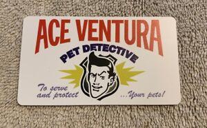 Ace Ventura Pet Detective Business Card