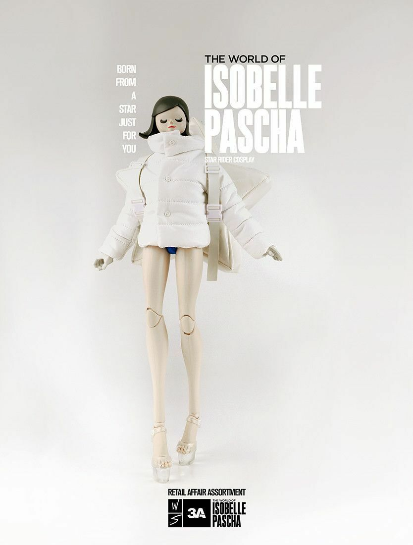 """3A ThreeA World of Isobelle Pascha 13"""" STAR RIDER COSPLAY Figure 1 6 Scale"""
