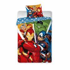 Copripiumino Singolo Avengers.Marvel Avengers Singolo 100 Cotone Set Copripiumino Europeo Taglia