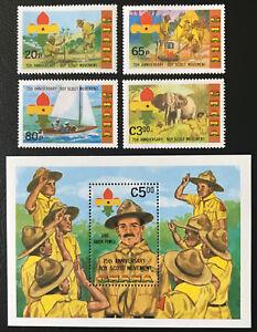 Ghana 1982** Pfadfinder / Scouts Postfrisch MNH - Nürnberg, Deutschland - Ghana 1982** Pfadfinder / Scouts Postfrisch MNH - Nürnberg, Deutschland
