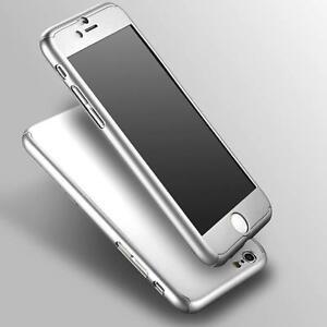 Nuevo-360-duro-con-vidrio-templado-para-Apple-Iphone-6-Plus-Silver-Incluido