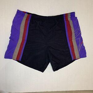Men/'s Swimming Trunks Vintage 80s Colorblock