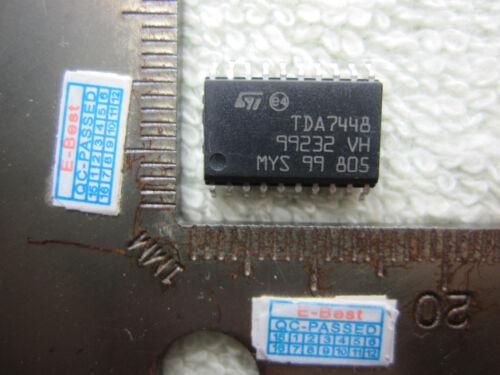 2pcs TDA 7448 TDA744B TDA7448 SOP20 IC Chip