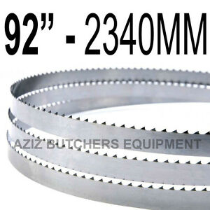Butchers Meat Bandsaw Blades 5 Pack 92 2340mm X 5 8 X 4tpi
