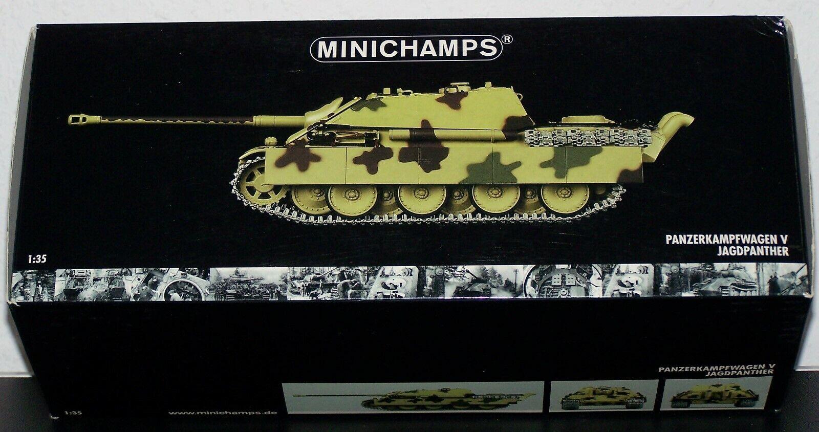 1 35 carros Jagdpanther V  caza departamento 559-frente oeste 1944  OVP
