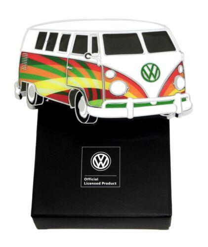 Volkswagen Boucle de ceinture VW Camper psychédélique rayons authentique sous licence officielle