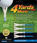 Golf Tees 4 Yards More  3 1/4  Driver Blue - Improve your distance