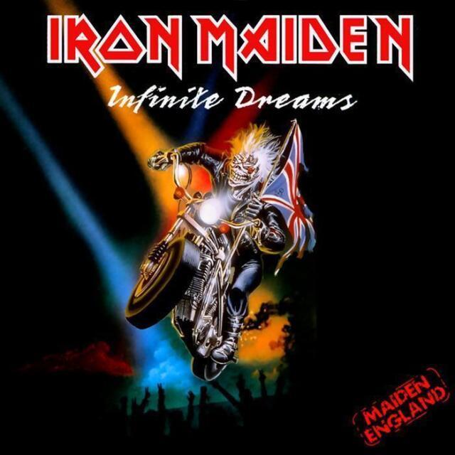 Iron Maiden - Infinite Sueños (Live) Nuevo 17.8cm