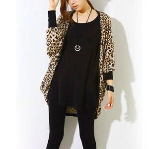 sommer cardigan strickjacke damen strick jacke leopard. Black Bedroom Furniture Sets. Home Design Ideas