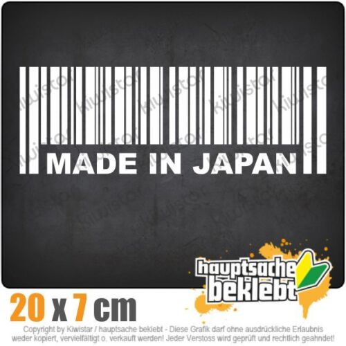 Made in Japan csf0325 20 x 7 cm JDM  Sticker Aufkleber