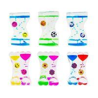 Colorful Liquid Lava Fidget Timer Oil Clock Kids Toy Party Supplies Favor Gifts