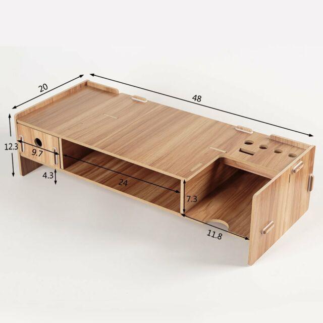 Yumu Adjustable Eco-friendly DIY Computer Monitor Stand ...