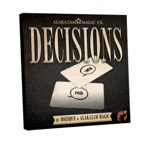Decisions By Mozique and Alakazam Magic Mentalism Magic Trick BEST SELLER