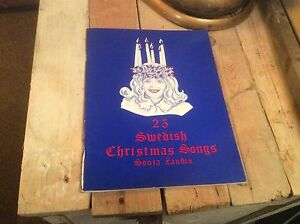 image is loading vintage antique sheet music 25 swedish christmas songs - Swedish Christmas Songs