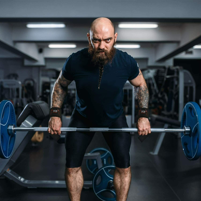 STEALTH TOP GYM Weight Bar Barbell Wrist Straps Non Slip Weight Bar Straps