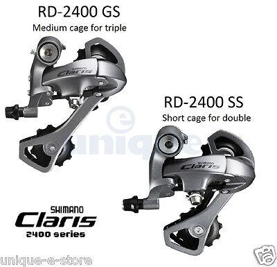Shimano Claris RD-2400 8 Speed Rear Derailleur Mech SS