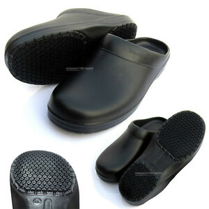 Unisex Chef Shoes Kitchen Shoes Clogs Non Slip Safety for Cook | eBay
