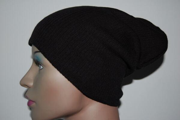 93a6b7d7d17 Slouch Oversized Baggy Winter Beanie Hat Mens Ladies 7 Colours! uk ...