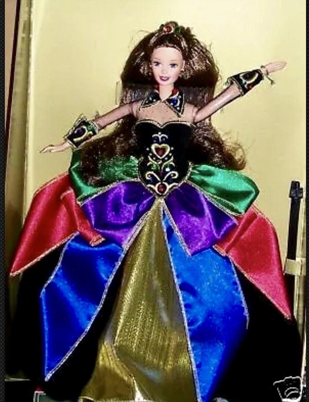 1997 Medianoche Princesa Barbie Morena Convenio Muñeca