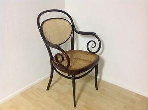 Details zu Original Thonet Stuhl Armlehner Nr.11 Wien um 1880