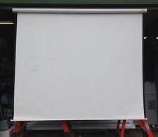 "Da-Lite Glass Beaded Matte White Pull Down Projector Screen H 78"" x W 96"""