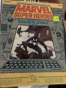 Marvel-Super-Heroes-RPG-Concrete-Jungle-MHAC7-TSR-6865-VNC-1985