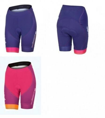 Sportful Gruppetto Pro w Shorts damen-fahrradhose Purple Pink Seat Cushion -