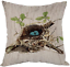 thumbnail 22 - Moslion Indian Horse Cotton Linen Square Decorative Throw Pillow Covers Brown Ho