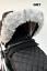 Pram-Fur-hood-trim-for-pram-bugaboo-universal-Silver-Cross-Wave-Pioneer-wave thumbnail 30