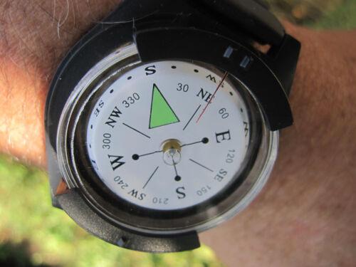 Grosser Outdoor Armband Kompass Armbandkompass Uhrenkompass Orientierung