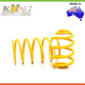 2 King Springs SUPER LOW EHD COIL SPRING For FORD FAIRLANE DA DC DF DL 6CYL-Rear