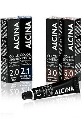 Alcina Color Sensitiv - Augenbrauen- und Wimpernfarbe dunkelbraun 3.0  - 17ml