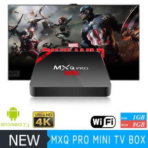 Details about MXQ PRO 4K Mini 2018 Android 7 1 Multi-Media TV Box UK