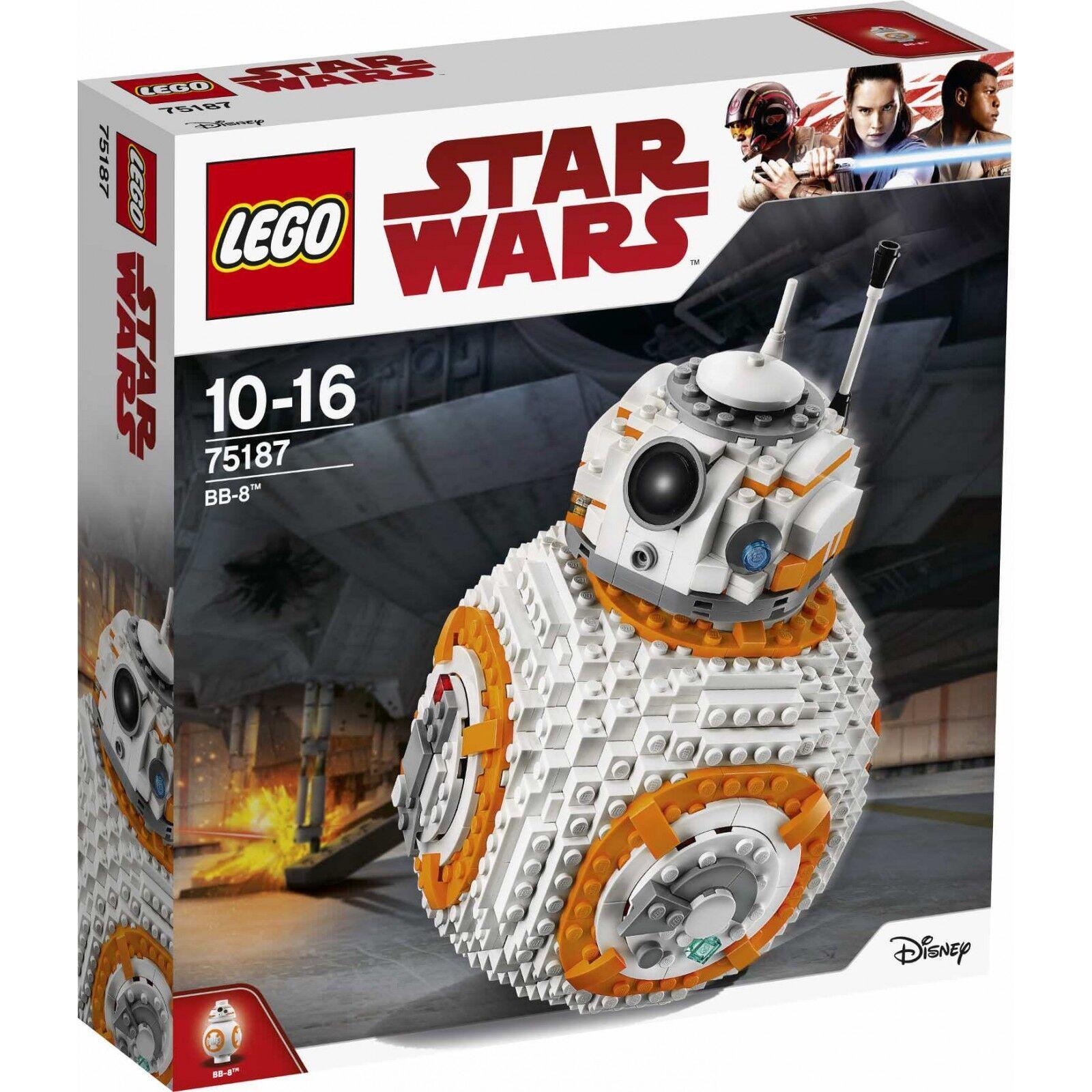 LEGO Star Wars 75187 BB-8 - L'ultimo Jedi-NUOVO