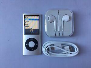 Apple-Ipod-Nano-4th-Generation-Silver-8-gb-mint