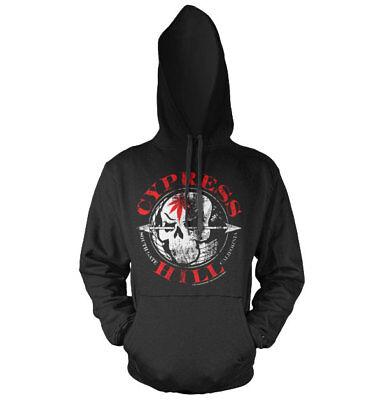 Black 420 Sweatshirt S-XXL Sizes Officially Licensed Cypress Hill