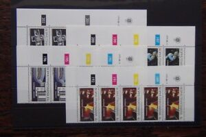 Bophuthatswana-1979-Platinum-Industry-in-control-strips-of-5-MNH