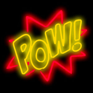 Details About Retro Neon Light Signs Pow Beer Party Room Wall Decor Gift 17x14 Bar Pub