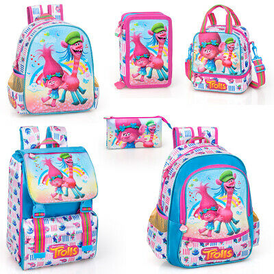 Trolls Single Zip Filled Pencil Case Poppy Gift New Official Licensed Product